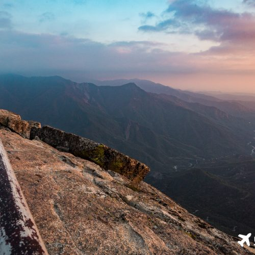 Besonders eindrucksvoll: Moro Rock zum Sonnenuntergang.