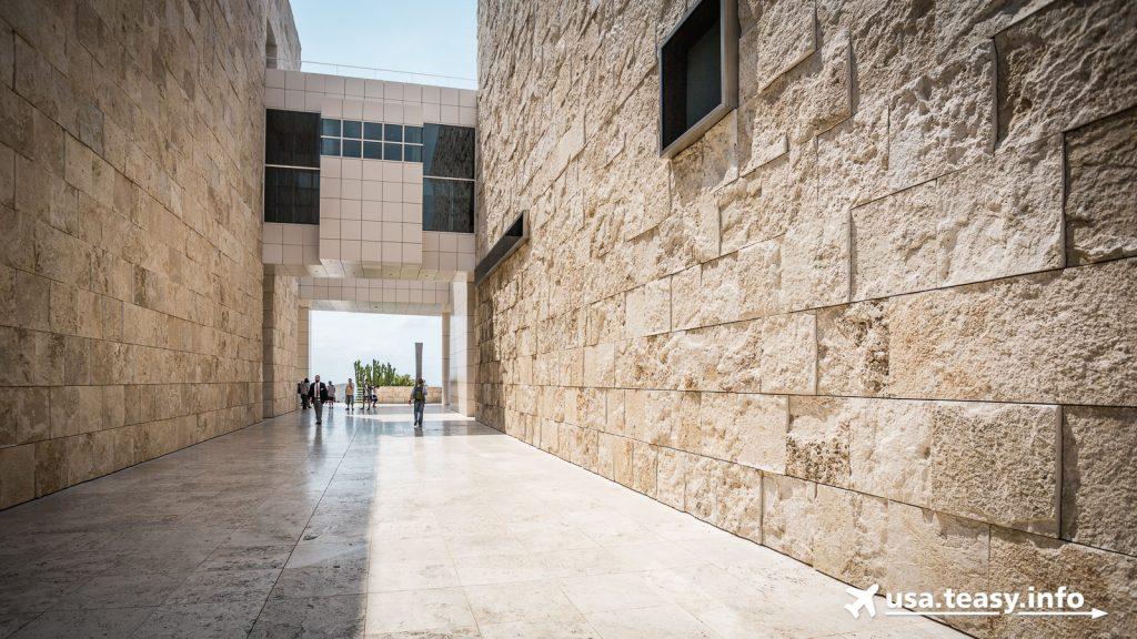 Erinnert ein bisschen an die Gefängnisinsel Akatraz: Das Getty Center in Los Angeles
