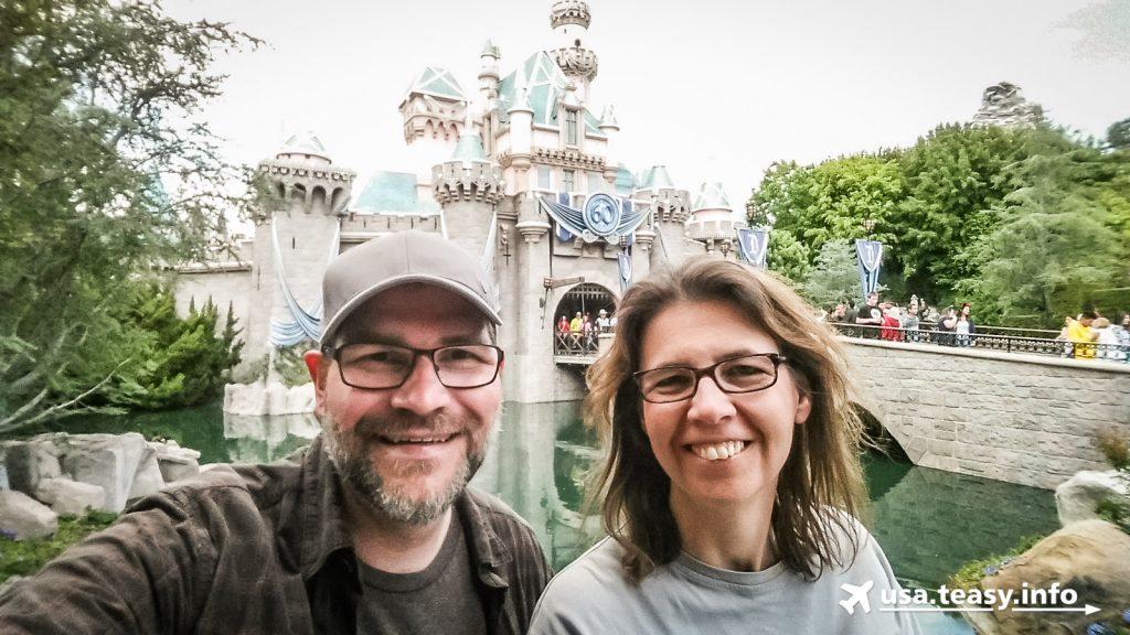 Gruß aus dem Disneyland Park.