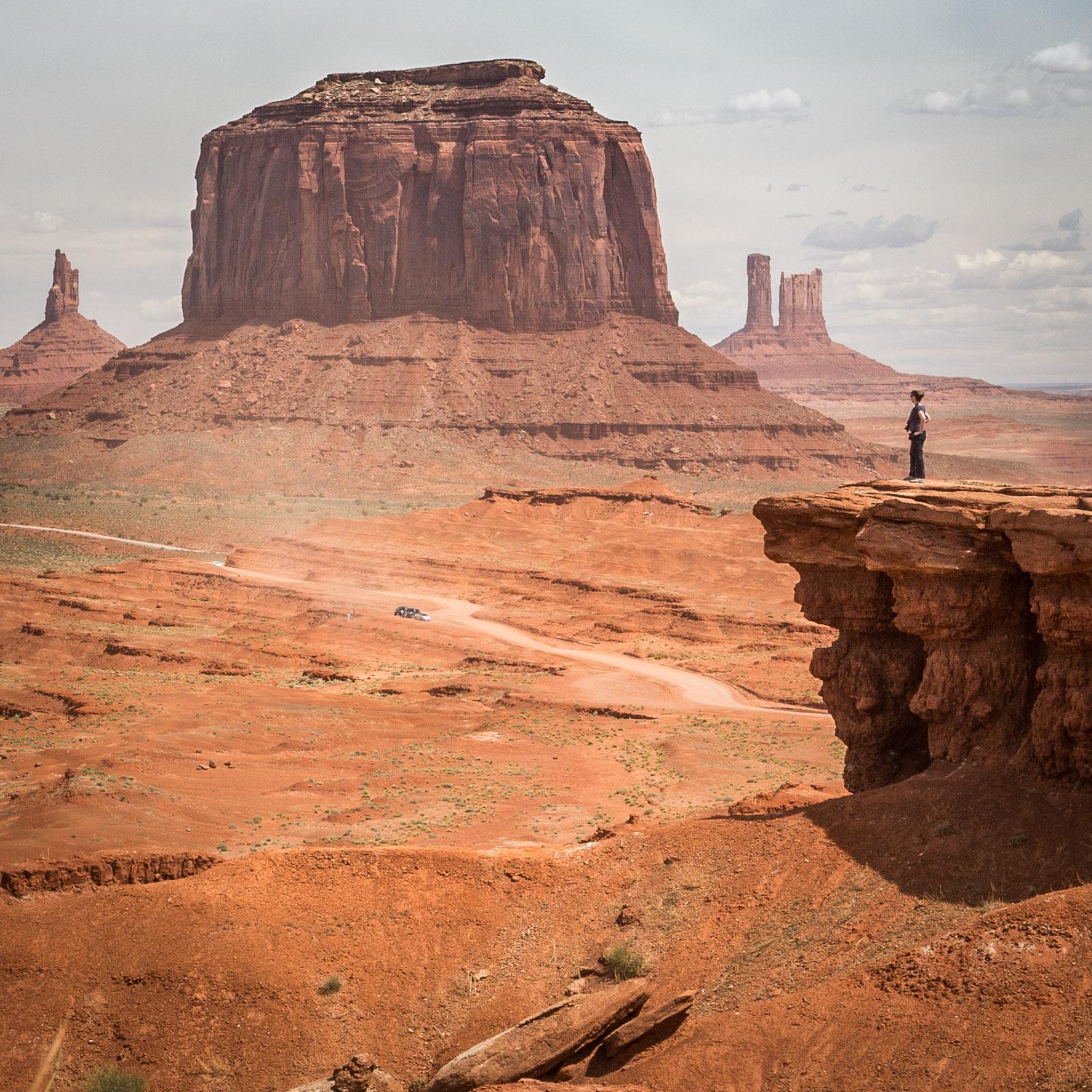 Monument Valley – beeindruckt, aber auch ein wenig enttäuscht