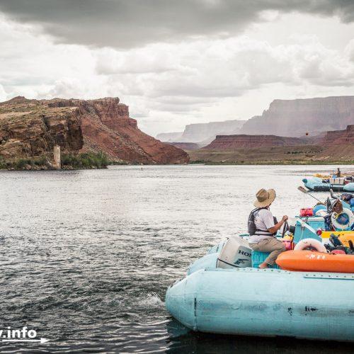 Lees Ferry Boat Ramp: Startpunkt für Rafting-Touren.