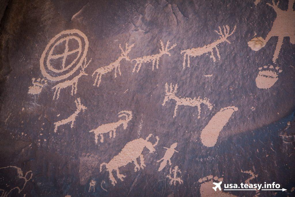 Newsletter Rock: Felsbilder der Ureinwohner.