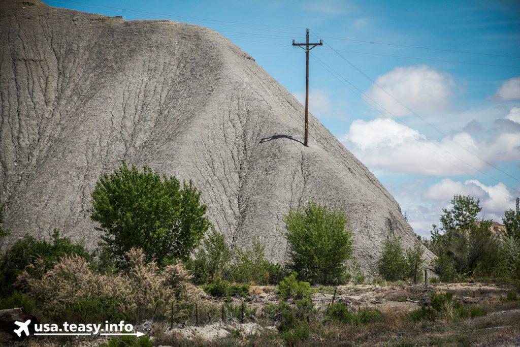 Was tun, wenn dem Strommast ein Bergausläufer im Weg steht?