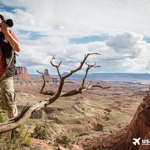 Kein Motiv im USA-Urlaub verpassen: Silke weiß, wo man die besten Fotos schießt.